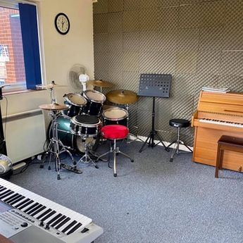Drums and Keyboards